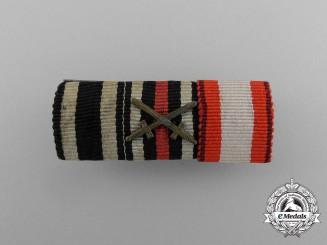 A First War German Fireman's Service Medal Ribbon Bar