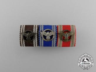A Second War NSDAP Long Service Ribbon Bar
