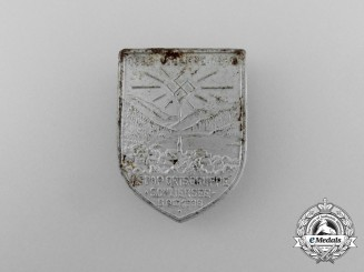"""A 1938 """"15 Years of NSDAP in the Schliersee Region"""" Badge"""