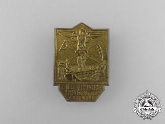A 1933 District Fürth 1st National Socialist Harvest Festival Badge