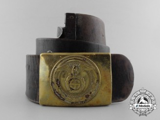 An SA (Sturmabteilungen) Enlisted Man's Belt with Buckle