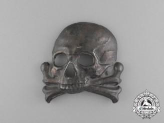 A First War Prussian 1st Hussar Regiment Helmet Plate