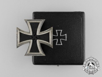 An Iron Cross 1939 First Class in its Original Case of Issue