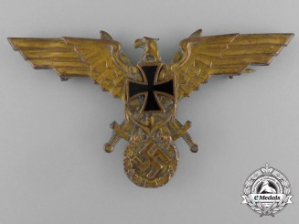 A Second War German Naval Veteran's Association Eagle
