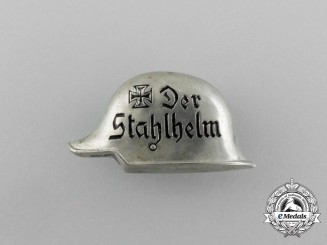A Third Reich Period Der Stahlhelm Membership Badge