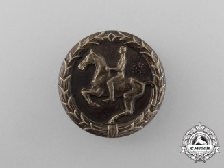 A Third Reich Period Youth Horse Rider's Badge by Steinhauer & Lück