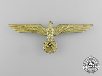 A Kriegsmarine Summer Tunic Breast Eagle