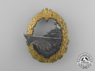 An Early War Destroyer War Badge by Schwerin of Berlin