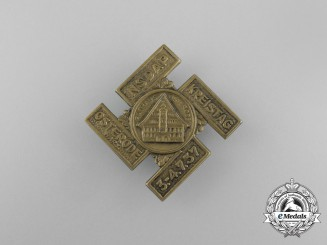 A 1937 NSDAP Osterode District Council Day Badge