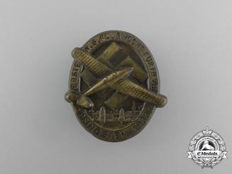 A 1933 First National Socialist Week of Flight in Fürth Badge