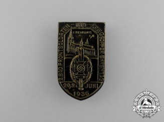 A 1936 NSKOV Front Fighter's Remembrance Day Badge