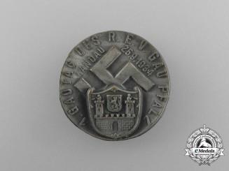A 1934 Pfalz-Landau Regional District Council Day Badge