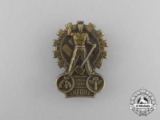 A 1934 NSBO, N.S-Hago, and DAF Meeting in Erfurt Badge
