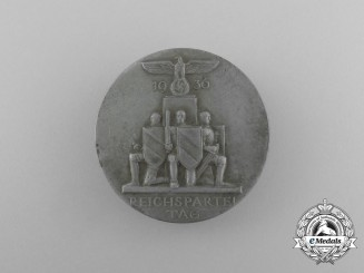 A 1936 NSDAP National Party Day Badge by B.H. Mayer