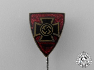 A Third Reich Period Veteran's Association Membership Stick Pin by Deschler & Sohn