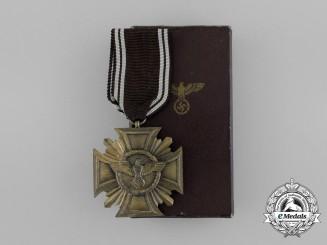 A Boxed NSDAP Bronze 10-Year (3rd Class) Long Service Award by Deschler & Sohn