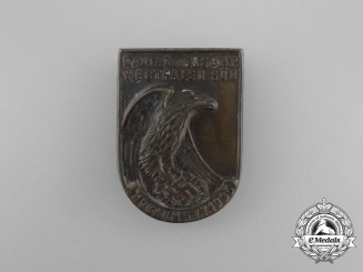 A 1935 NSDAP Regional Party Day of Westfalen South Badge