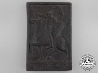 A Second War SS Plaque