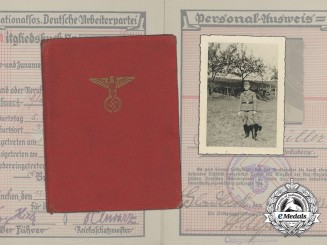 A Large Collection of Documents of SA-Obertruppführer Karl Müller