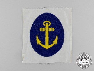 A Mint and Unissued Kriegsmarine Sports Vest  Insignia