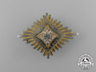 "A First War Austrian ""Gold for Iron"" Donation Badge 1914-1915"