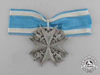 A First War Period Prussian Shooting Medal in 950 Silver