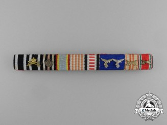 A Fist War Prussian House Order of Hohenzollern Ribbon Bar