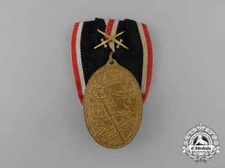"A German Reich War Veteran Organization ""Kuffhauser"" Medal"