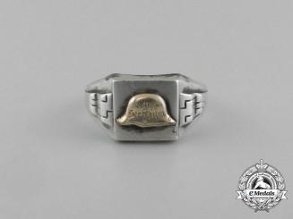 """A """"Der Stahlhelm"""" Silver Ring"""
