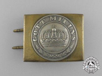 A Franco Prussian War Heer (Army) EM/NCO's Belt Buckle