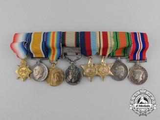 United Kingdom. A First War & India General Service Miniature Group