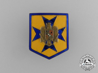 A Second War Romanian Iron Guard Badge
