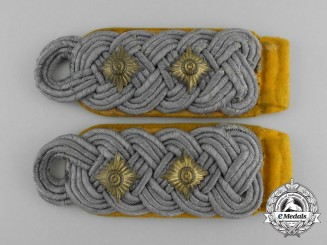 A Uniform Removed Set of Luftwaffe Oberst Shoulder Boards