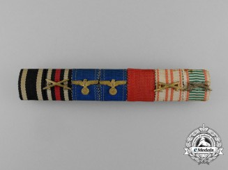 A First & Second War Austro-Hungarian Medal Ribbon Bar