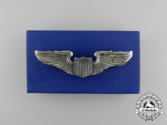 A Mint Second War American Army Air Force Pilot Badge