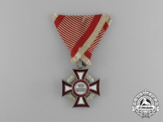 Austria, Imperial. A Military Merit Cross, by Alexander Kochert, c.1915