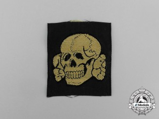 A Mint and Unissued Waffen-SS EM/NCO's Tropical Cap Skull