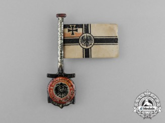 A German Imperial Marine Flotilla Remembrance Day Badge