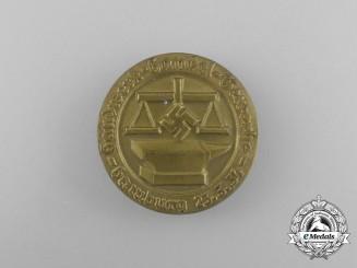 A 1934 Hamburg Craftsmen and Commerce Association Badge