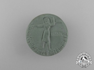 A 1933/34 WHW (Winter Relief of the German People) Donation Badge
