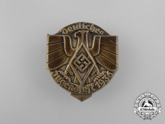 A 1936 HJ German Festival of Youths Badge