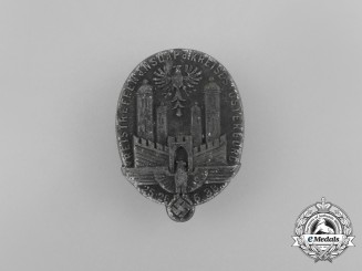 A 1938 Osterburg NSDAP District Council Day Badge