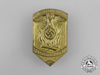 A 1933 Festival of Youths Badge