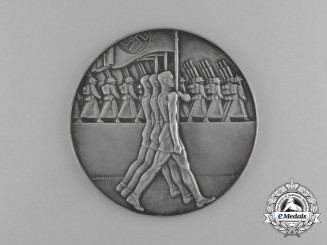 A Rare 1935 DRL Stuttgart Handball Championships Winner Medal