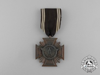 A NSDAP 10-Year Long Service Award; 3rd-Class; Heavy Version