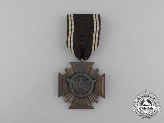 A NSDAP 10-Year Long Service Award; 3rd-Class; Heavy Version