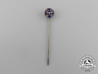 A NSDAP 15-Year Long Service Award Miniature Stick Pin by Otto Schninckle