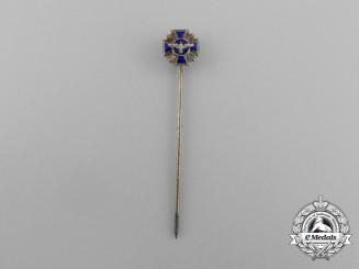A NSDAP 15-Year Long Service Award Miniature Stick Pin by Otto Schninckle