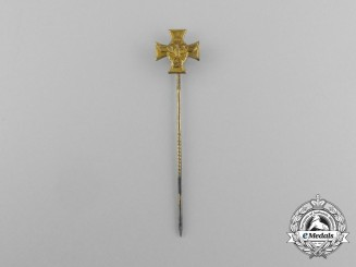 A Third Reich Period German 25-Year Long Service Miniature Stick Pin