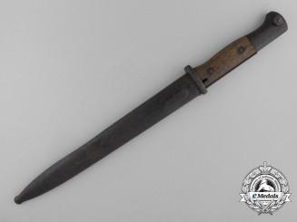 A First War German Imperial Sawback Knife Bayonet